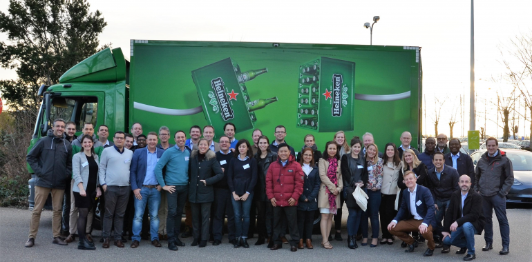 Drop the C in Logistics at HEINEKEN!