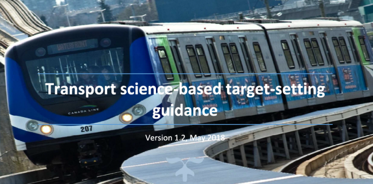 Sectoral Transport Approach – Transport Tool